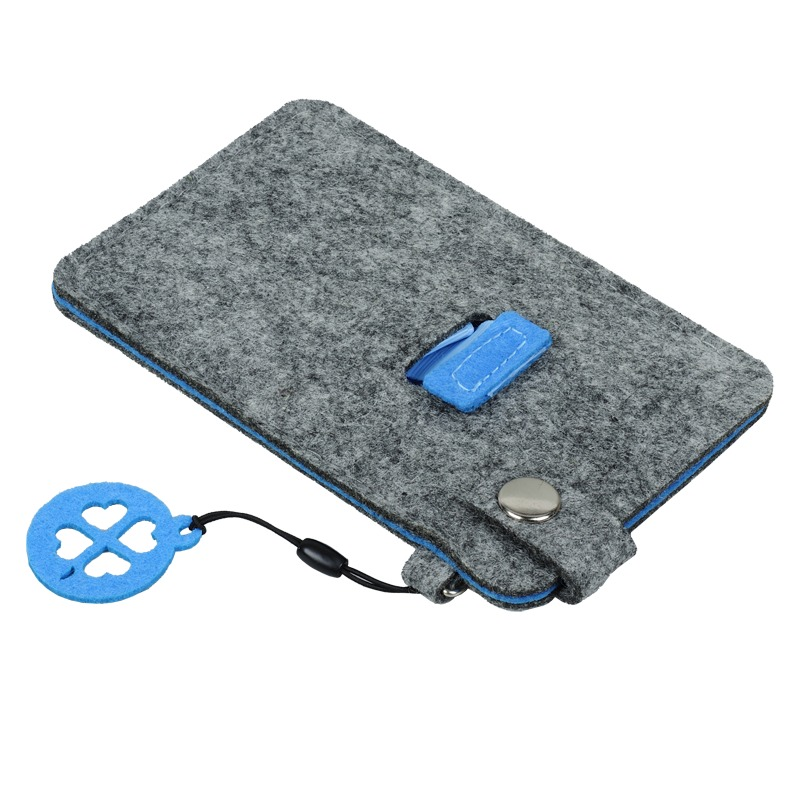 Eco Sence smartphone case, blue/grey photo