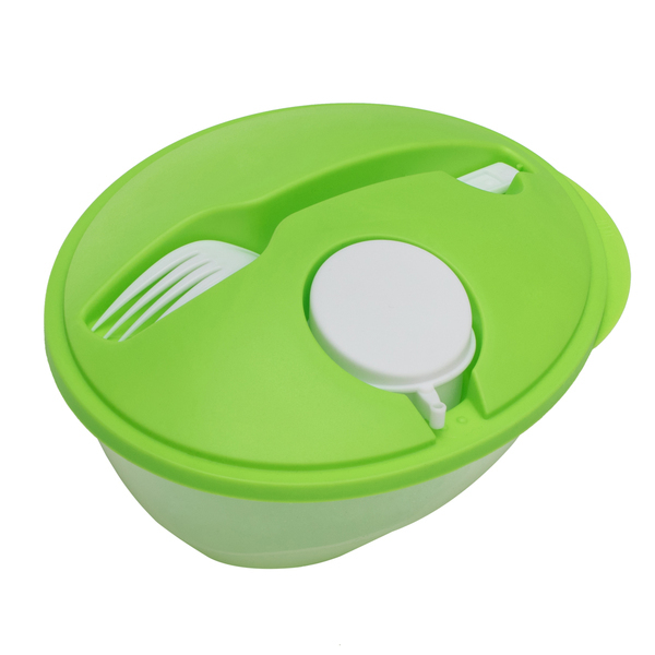 Veggy salad bowl, green photo