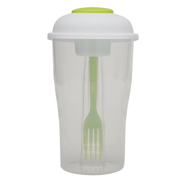 Foodies salad container, green photo