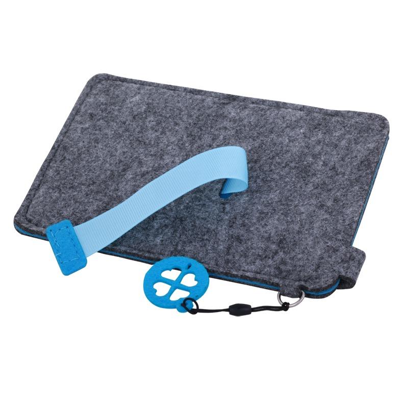 Eco Sense smartphone case, blue/grey photo