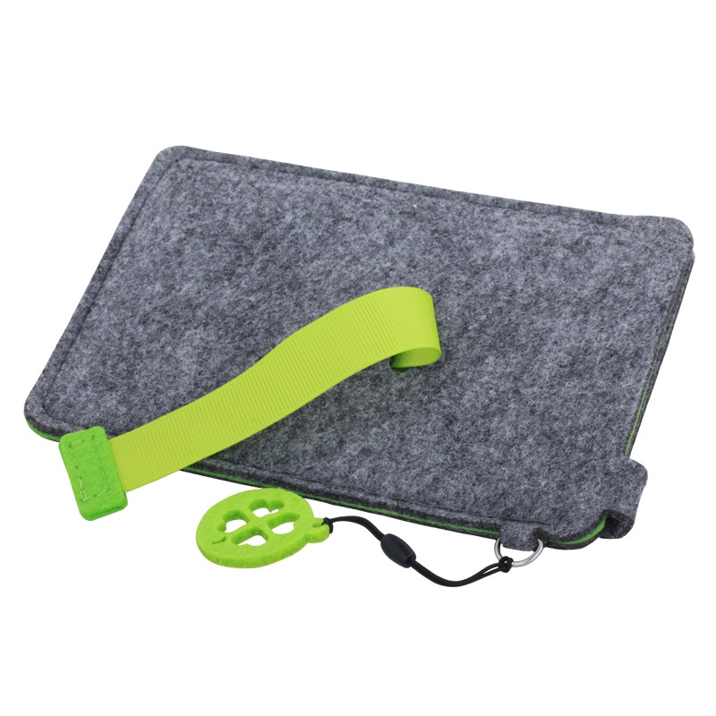 Eco Sense smartphone case, green/grey photo