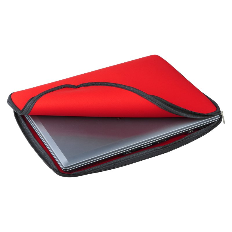 Vernazza laptop case, red photo